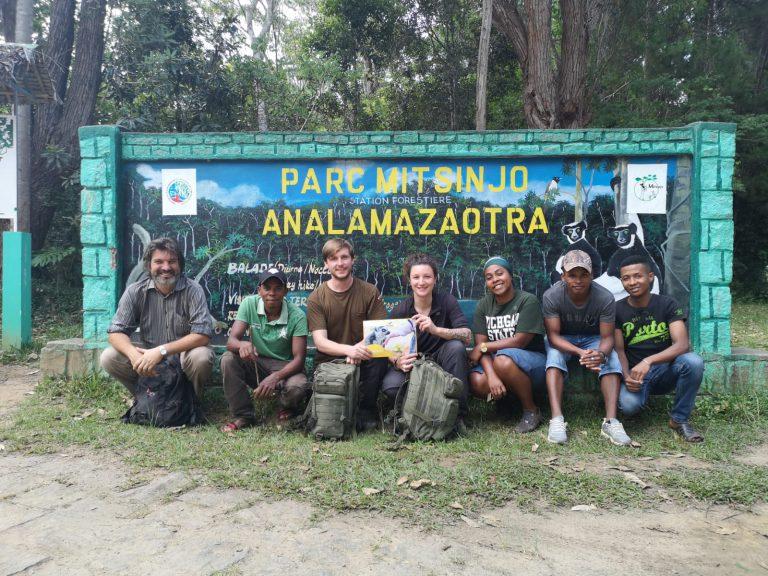 La direction du Bioparc Genève au début de sa collaboration avec l'association malgache Mitsinjo